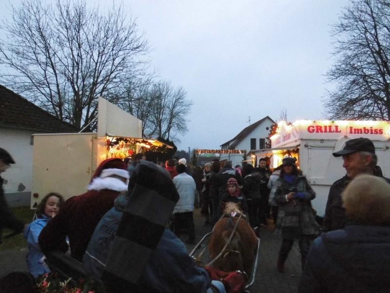 Weihnachtsmarkt vom Bürgerverein Wüsting e.V.