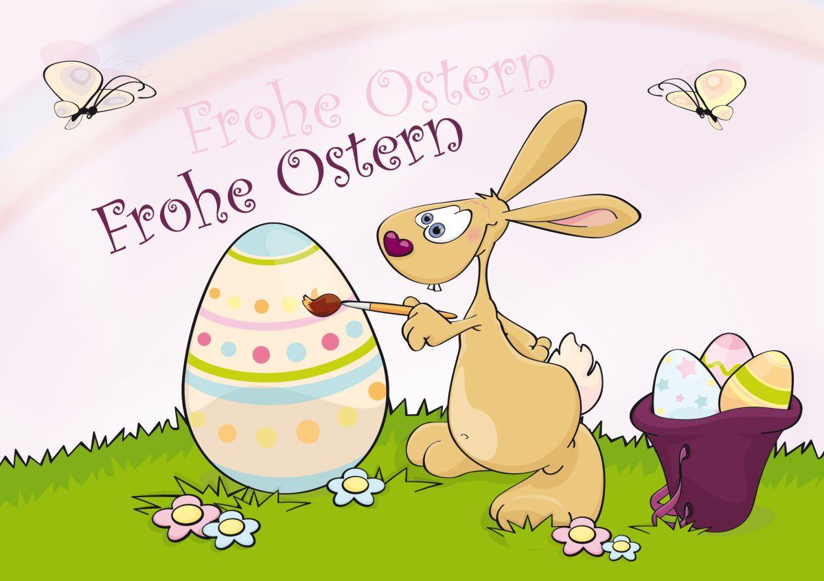 Frohe und schönes Osterfest, wünscht Ihnen der Bürgerverein Wüsting e.V.