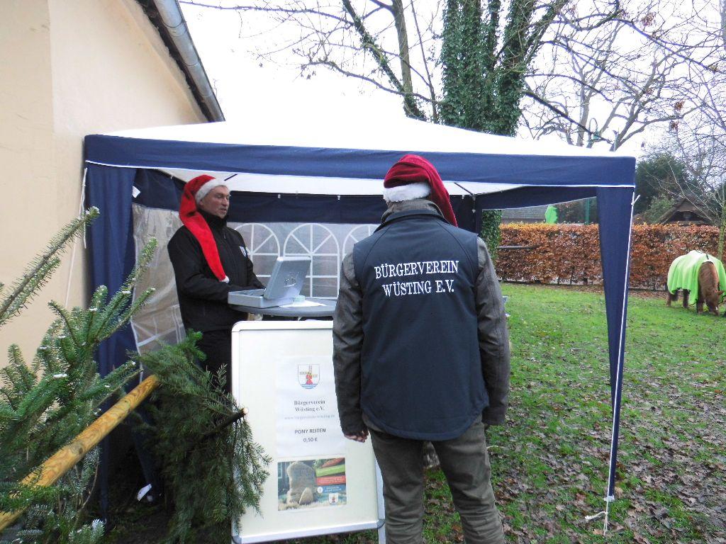 Bürgerverein Wüsting e.V. mit weiteren Wüstinger Vereinen