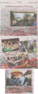 Jubiläumsmarkt in Wüsting - Bürgerverein Wüsting lädt zum 25. Weihnachtsmarkt ein