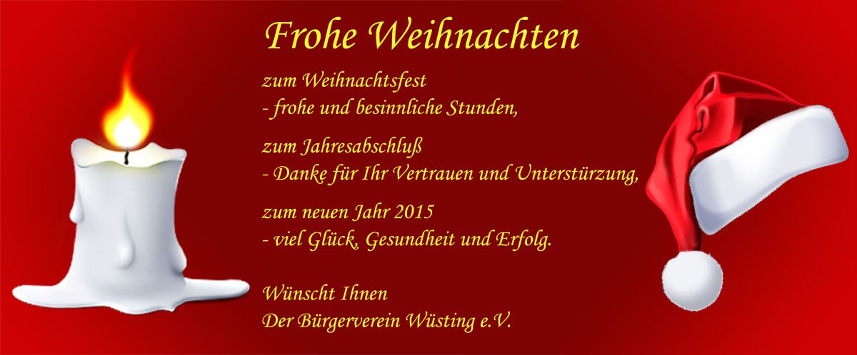 Der Bürgerverein Wüsting e.V.